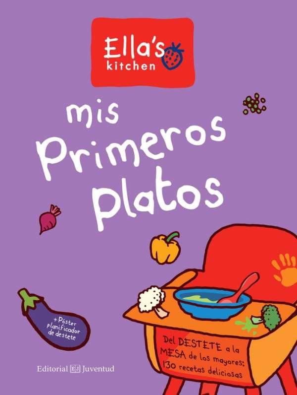Portada del llibre infantil Mis primeros platos d'Ella's Kitchen