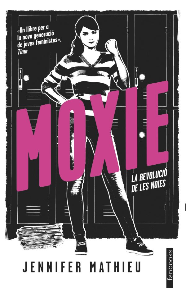 Portada del llibre Moxie de Jennifer Mathieu