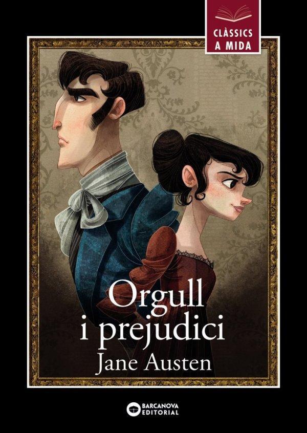 Portada del llibre Orgull i prejudici de Jane Austen (versió adaptada)