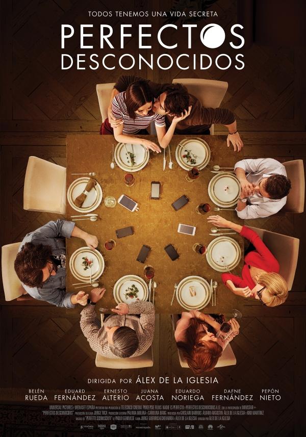 Imatge del cartell de la pel·lícula Perfectos desconocidos