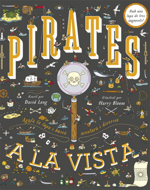 Portada del llibre infantil Pirates a la vista de David Long