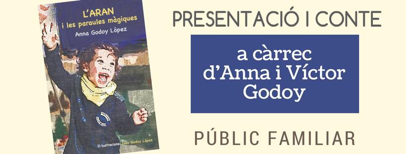 Imatge amb la portada del llibre L'Aran i les paraules màgiques