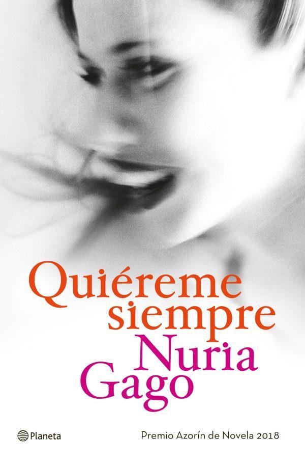Portada del llibre Quiéreme siempre de Nuria Gago