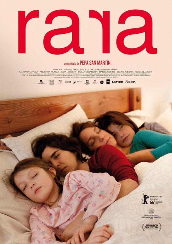 Imatge del cartell de la pel·lícula Rara