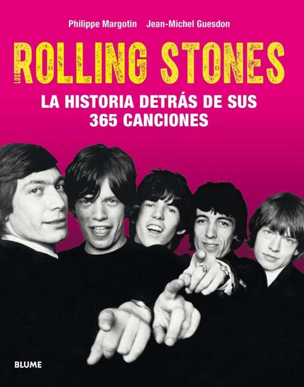 Portada del llibre Rolling Stones, la historia detrás de sus 365 canciones
