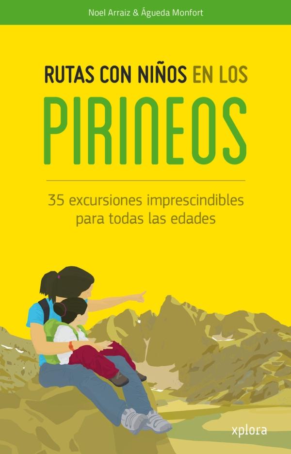 Portada del llibre infantil Rutas con niños en los Pirineos
