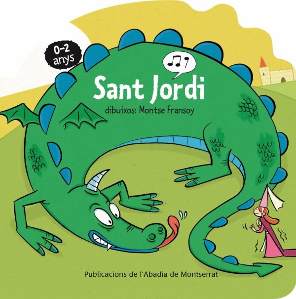 Portada del llibre infantil Sant Jordi de Montse Fransoy
