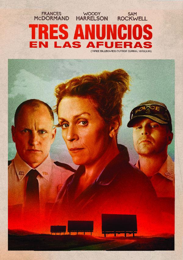 Imatge del cartell de la pel·lícula Tres anuncios en las afueras