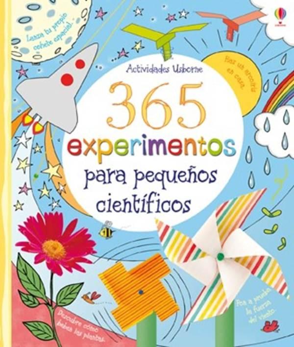 Portada del llibre infantil 365 experimentos para pequeños científicos
