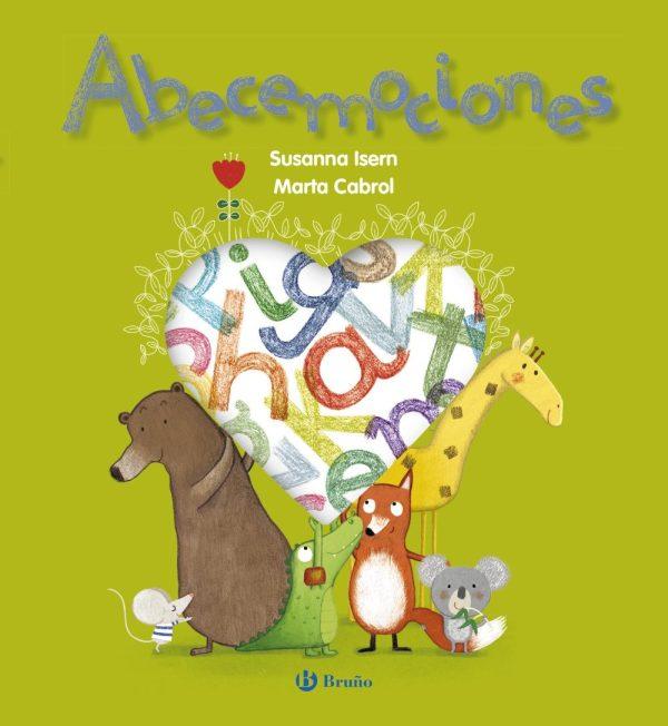 Portada del llibre infantil Abecemociones de Sussanna Isern