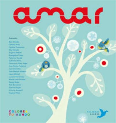 Portada del llibre infantil de poemes Amar