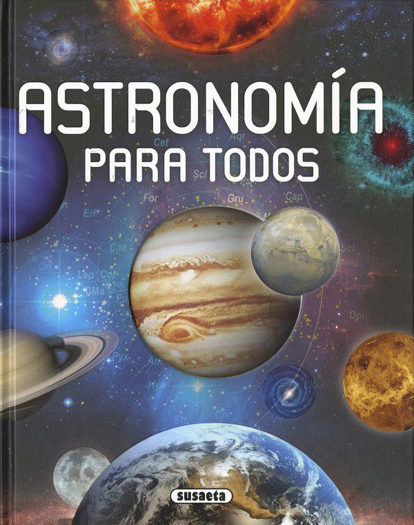 Portada del llibre infantil Astronomía para todos