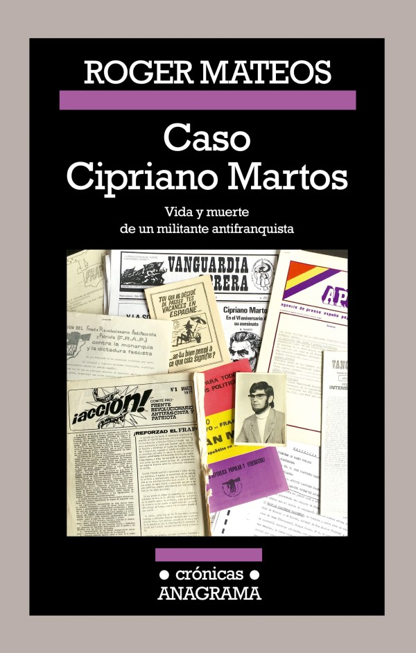 Portada del llibre Caso Cipriano Martos de Roger Mateos