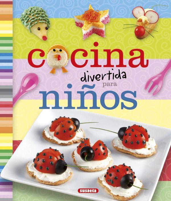Portada del llibre infantil Cocina divertida para niños
