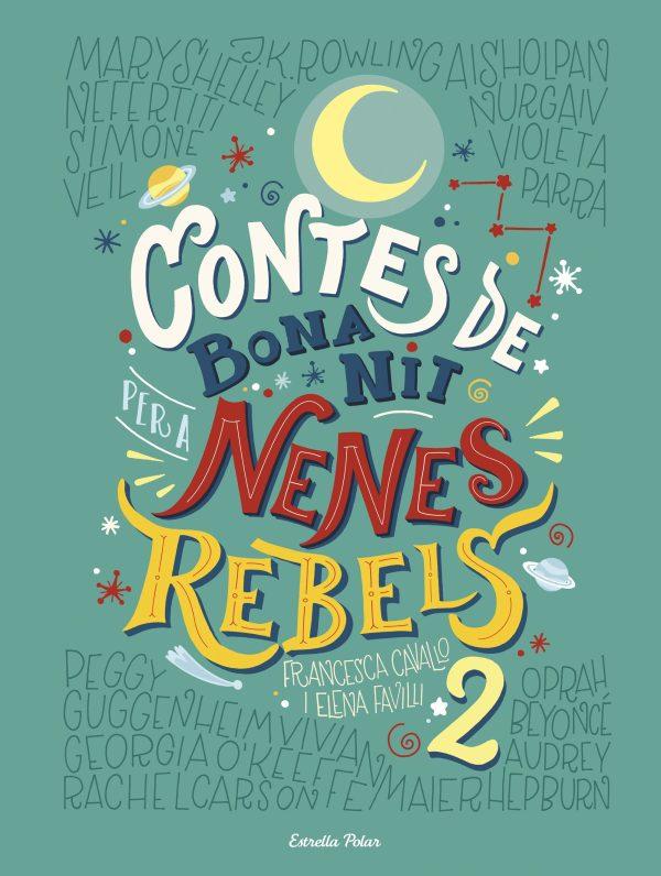 Portada del llibre infantil Contes de bona nit per a nenes rebels 2