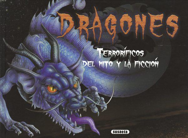 Portada del llibre infantil Dragones terroríficos, del mito a la ficción