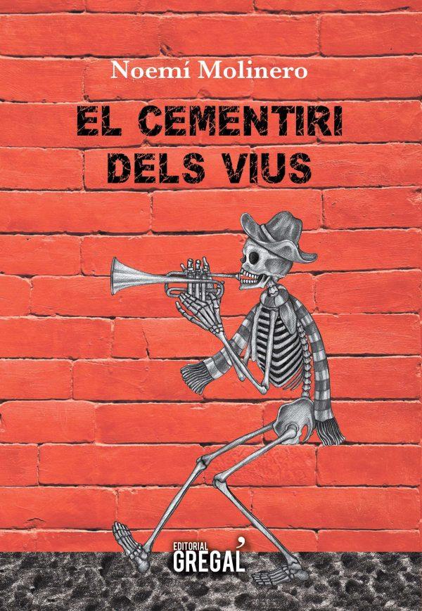 Portada del llibre infantil El cementiri dels vius