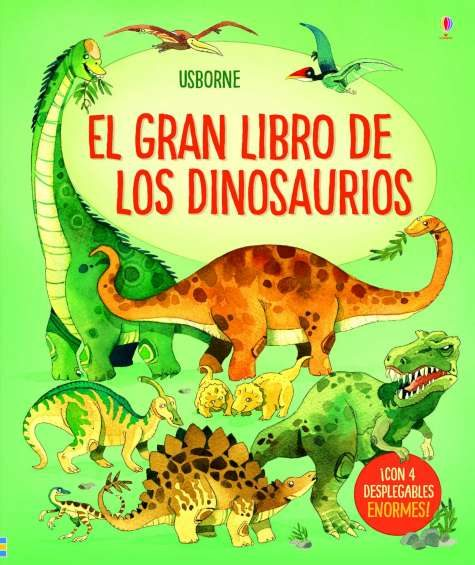 Portada del llibre infantil El gran libro de los dinosaurios