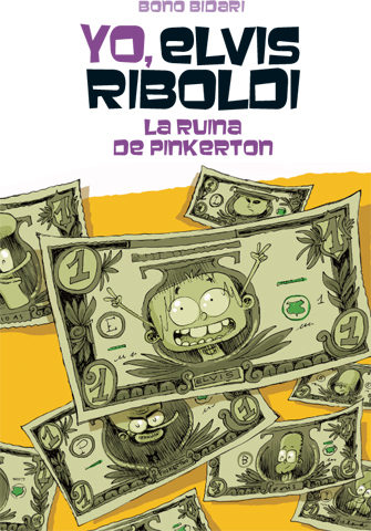 Portada del llibre infantil Yo, Elvis Riboldi, La ruina de Pikerton
