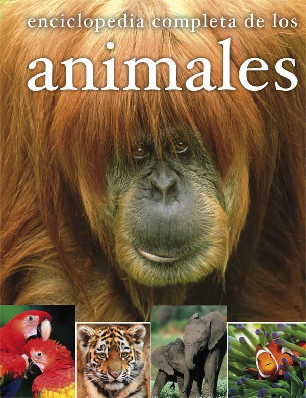 Portada del llibre infantil Enciclopedia completa de los animales