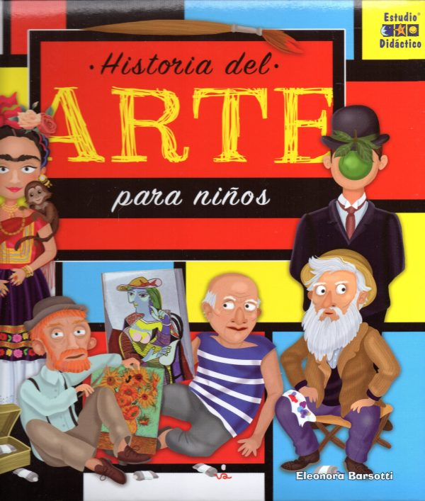 Portada del llibre infantil Historia del arte para niños