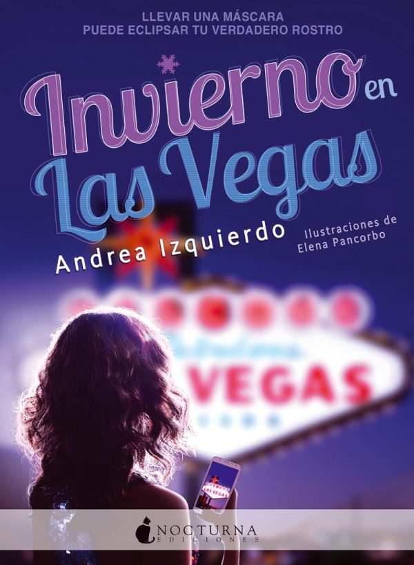 Imatge de la portada de la novel·la Invierno en Las Vegas de Andrea Izquierzo