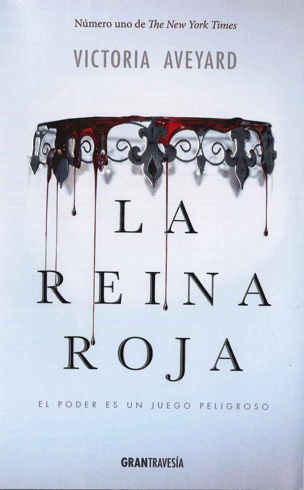 Imatge de la portada de la novel·la La Reina Roja de Victoria Aveyard