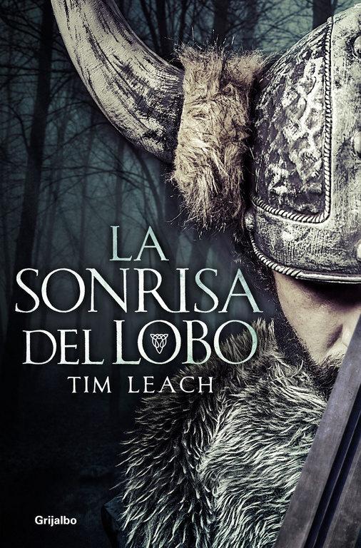 Imatge de la portada de la novel·la La sonrisa del lobo de Tim Leach