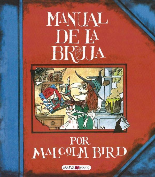 Portada del llibre infantil Manual de la bruja de Malcolm Bird
