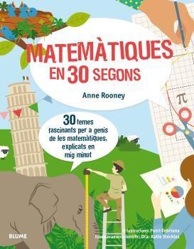 Portada del llibre infantil Matemàtiques en 30 segons