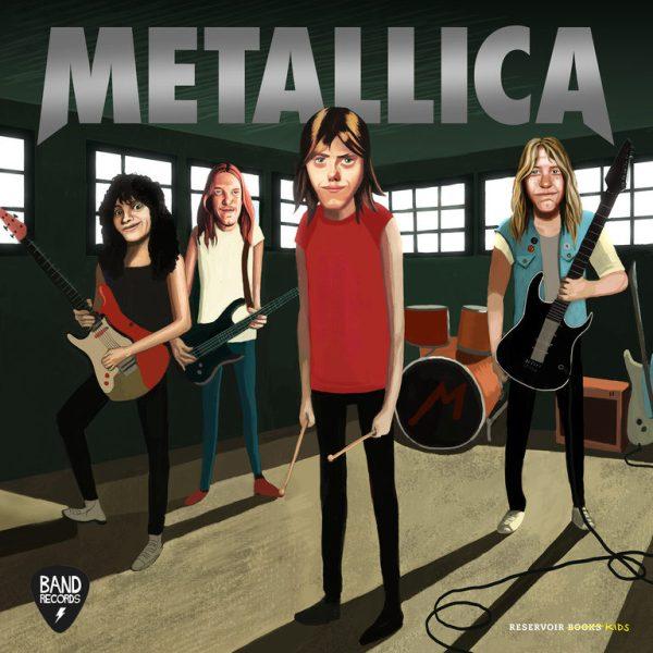 Portada del llibre infantil Metallica