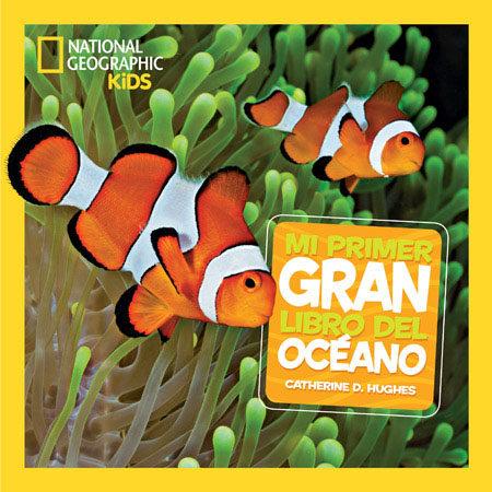 Portada del llibre infantil Mi primer gran libro del océano