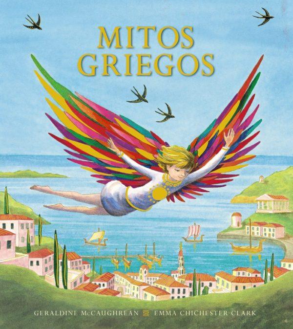 Portada del llibre infantil Mitos griegos