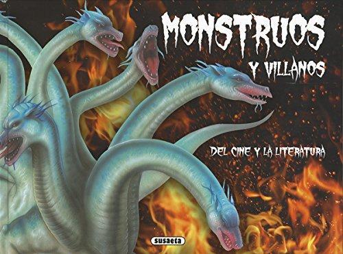 Portada del llibre infantil Monstruos y villanos del cine y la literatura