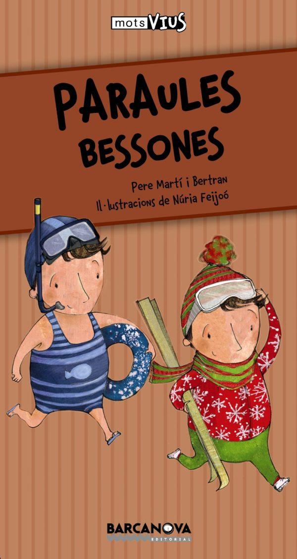 Portada del llibre infantil Paraules bessones