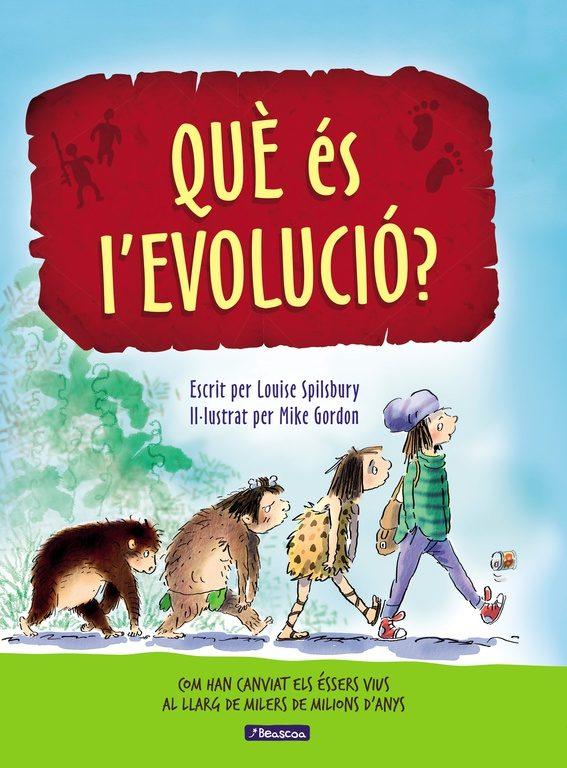 Portada del llibre infantil Què és l'evolució?