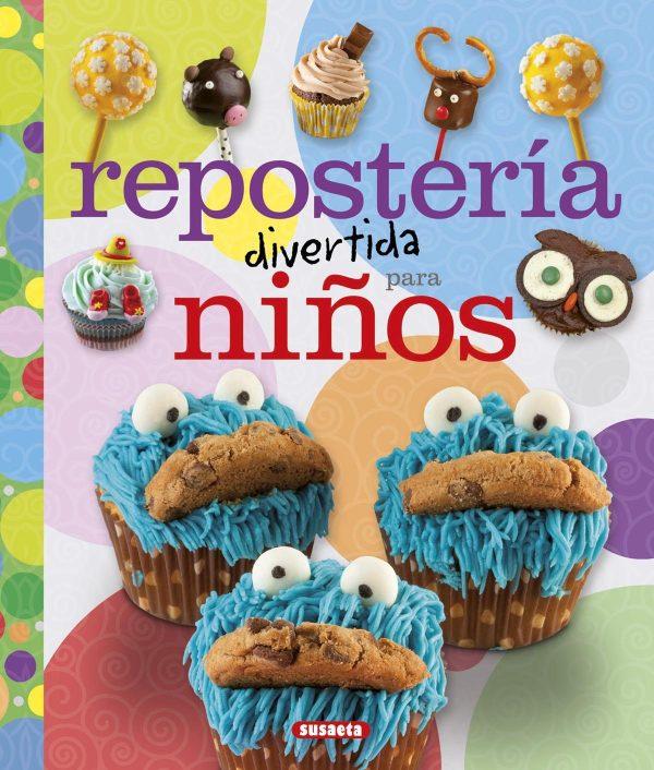 Portada del llibre infantil Repostería divertida para niños