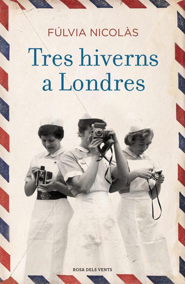 Imatge de la portada de la novel·la Tres hiverns a Londres de Fúlvia Nicolàs