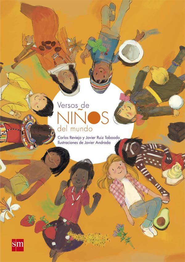 Portada del llibre infantil Versos de niños del mundo