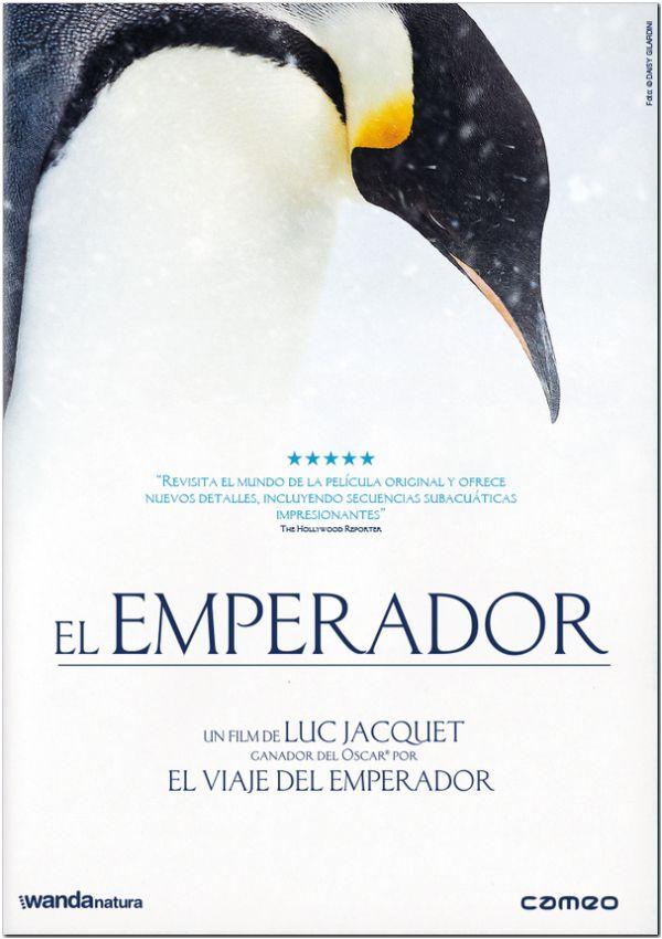 Portada del DVD de la pel·lícula El emperador