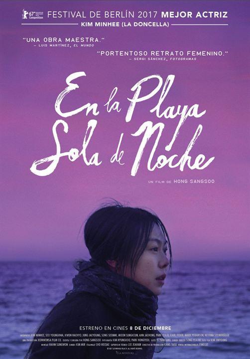 Portada del DVD de la pel·lícula En la playa sola de noche