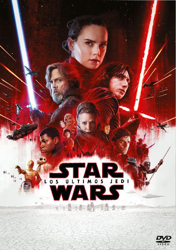 Portada del DVD de la pel·lícula Star Wars. Los últimos Jedi