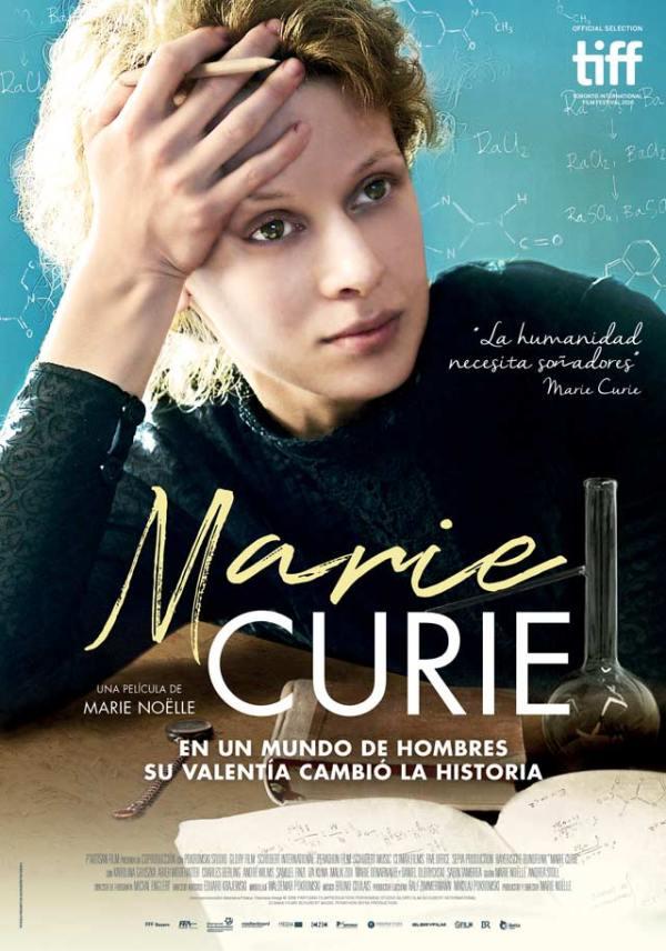 Portada del DVD de la pel·lícula Marie Curie