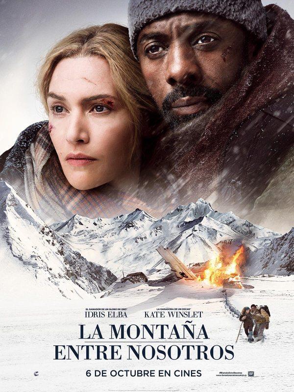 Portada del DVD de la pel·lícula La montaña entre nosotros