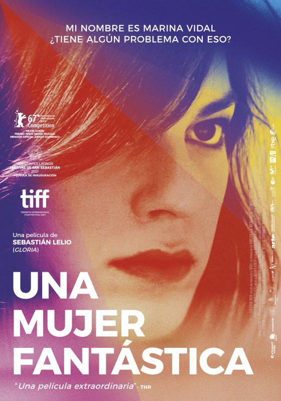 Portada del DVD de la pel·lícula Una mujer fantástica