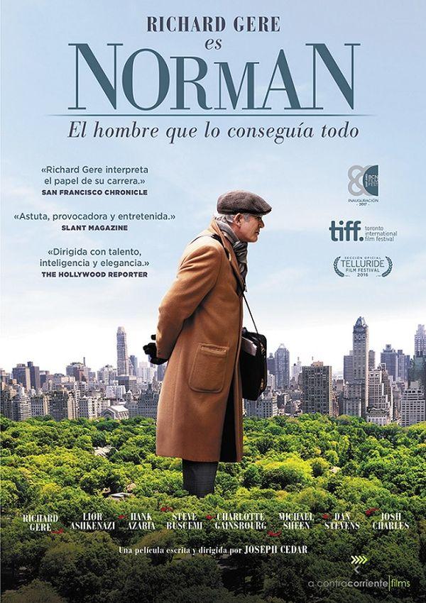 Portada del DVD de la pel·lícula Norman