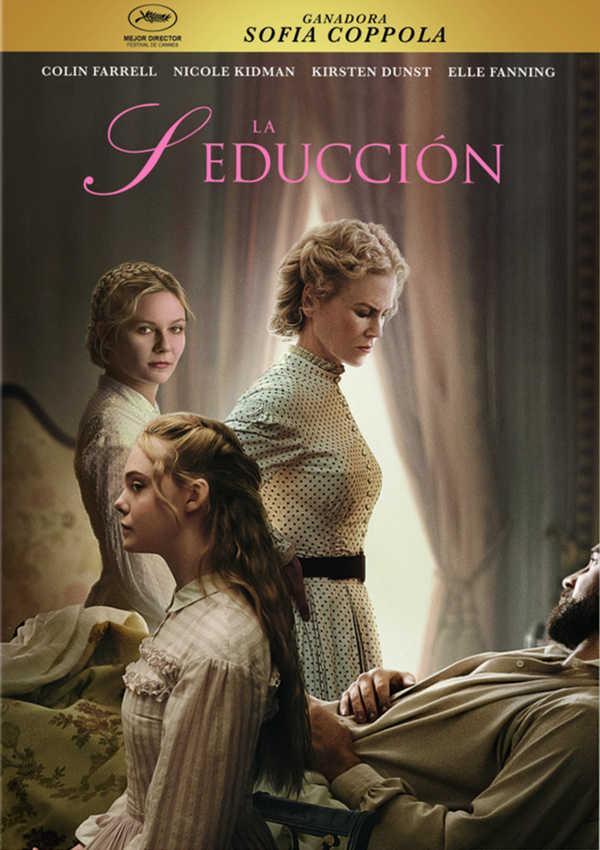 Portada del DVD de la pel·lícula La Seducción