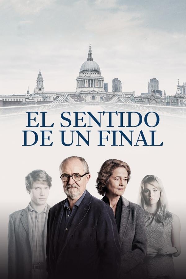 Portada del DVD de la pel·lícula El sentido de un final