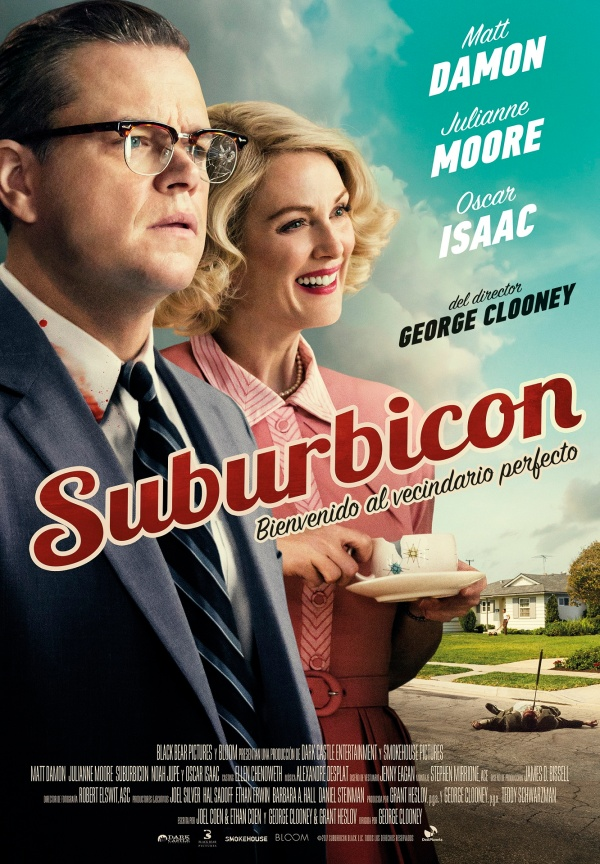 Portada del DVD de la pel·lícula Suburbicon