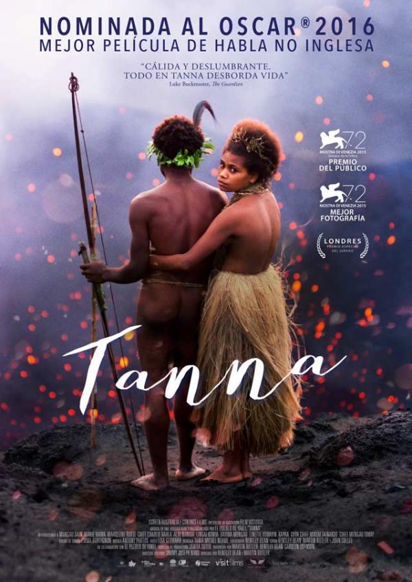 Portada del DVD de la pel·lícula Tanna